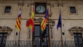 Drapeaux en Majorque clips vidéos
