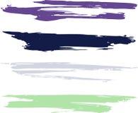 drapeaux grunges Image libre de droits