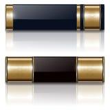 Drapeaux, positionnement de luxe Images stock