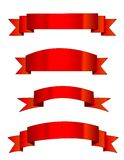 Drapeaux rouges/drapeau Images libres de droits