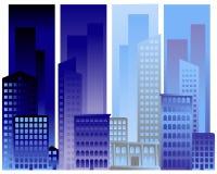 Drapeaux urbains illustration libre de droits