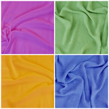 Draped fabric, set Royalty Free Stock Photo