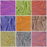 Draped fabric, set Stock Photography