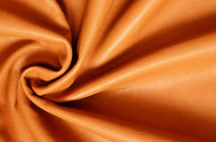 Draped leather for background Royalty Free Stock Image