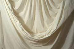 Draped muslin backdrop Royalty Free Stock Photography