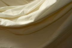 Draped muslin background cloth close up Stock Photos