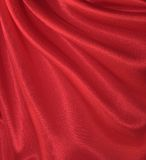 Draped red silk background royalty free stock photo