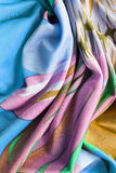 Draped silk background Royalty Free Stock Photography