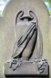 Draped Urn Carving on Headstone Royalty Free Stock Photography