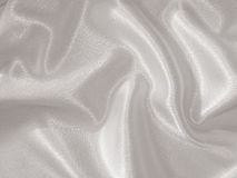 Draped white satin background Royalty Free Stock Images