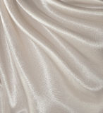 Draped white silk background Royalty Free Stock Image