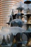 Draperende fonteinen Royalty-vrije Stock Afbeelding
