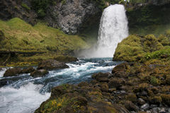 Draperende waterval in Oregon Royalty-vrije Stock Foto