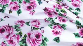 draperia Setki różne tkaniny Wybór różnorodne kolor opcje, kamera ruch wzdłuż tkanin zbiory