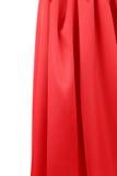 Draperie en soie rouge Photographie stock libre de droits