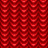 Draperie rouge Images libres de droits