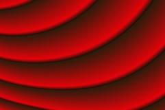 Draperie rouge Image libre de droits