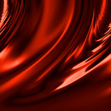 Draperie rouge illustration de vecteur