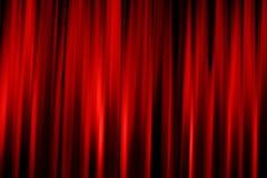 Draperie rouge de cinéma Photographie stock