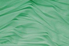 Draperie vert d'eau Image libre de droits