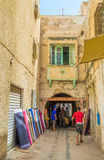 The draperies of Sfax Royalty Free Stock Photography