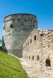 Drapers' Bastion in Brasov. Drapers' Bastion (aka Bastionul Postavarilor) was built during 1450-1455 as a protective bastion. Located on the East side of the old stock photo