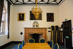 Drapers Room, St Marys Guildhall. Stock Image