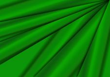 Drapery. Illustration of light green silky / satin drapery background / texture royalty free illustration
