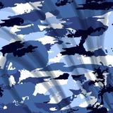 Drapery camouflage fabric textile background Royalty Free Stock Image