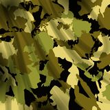 Drapery camouflage fabric textile background Royalty Free Stock Images