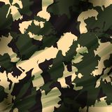 Drapery camouflage fabric textile background Stock Photo