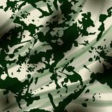 Drapery camouflage fabric textile background Royalty Free Stock Photography