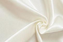 White satin drapery Royalty Free Stock Photography