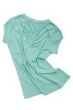Drapery female sports tee-shirt Royalty Free Stock Photography