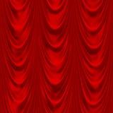 Drapery vermelho Fotografia de Stock Royalty Free