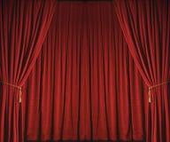 drapes θεατρικός Στοκ εικόνα με δικαίωμα ελεύθερης χρήσης