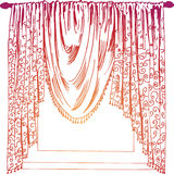 Drapes Royalty Free Stock Photos
