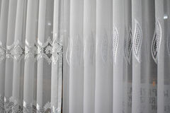 Drapes and curtains. Royalty Free Stock Images