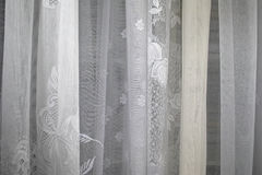 Drapes and curtains. Royalty Free Stock Photos