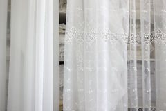 Drapes and curtains. Royalty Free Stock Photography