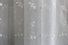 Drapes and curtains. Stock Photo