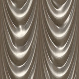 Drapes silver royalty free stock photography