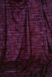Drapierter strukturierter Hintergrund mit Fußboden Stockbilder