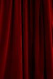 drapuje czerwonego aksamit Zdjęcia Stock