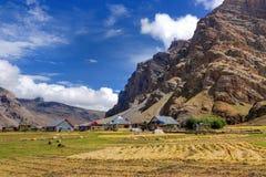 Drassdorp, Kargil, Ladakh, Jammu en Kashmir, India royalty-vrije stock foto's