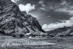 Drassdorp, Kargil, Ladakh, Jammu en Kashmir, India stock afbeeldingen
