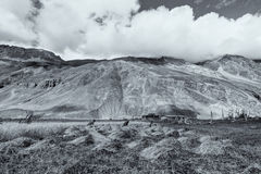 Drassdorp, Kargil, Ladakh, Jammu en Kashmir, India royalty-vrije stock foto