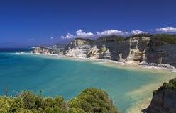drastis przylądek Korfu obraz stock