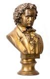 Drastisch beleuchteter Fehlschlag des klassischen Komponisten Stockbilder