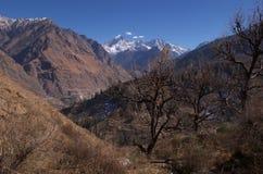 Drastische Himalajalandschaft-cc$ii Lizenzfreie Stockfotos